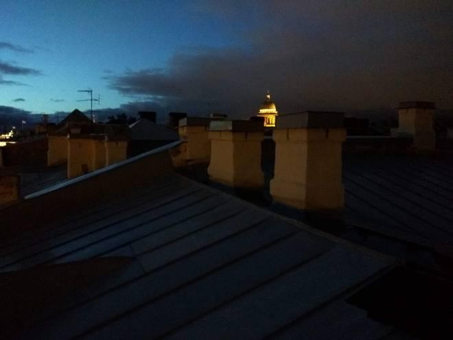 petersburgo telhado noites brancas vista st isaac