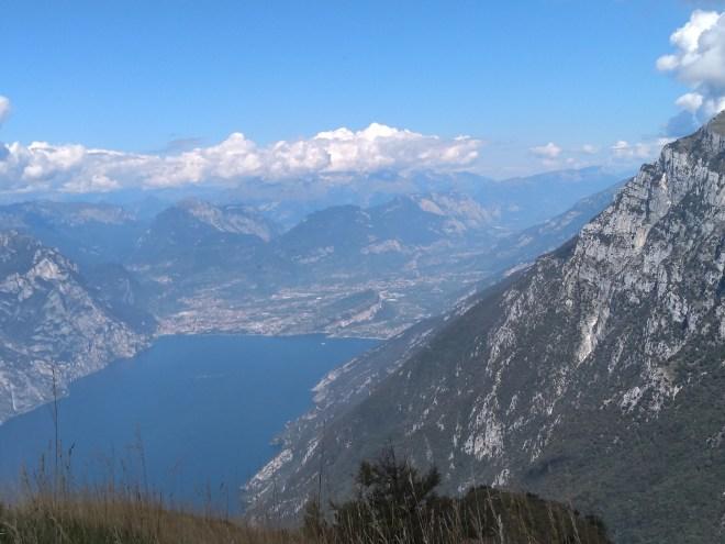 Lago de Garda Malcesine vista para o Trentino