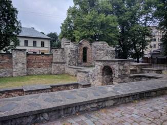 Letonia Riga sinagoga arrasada