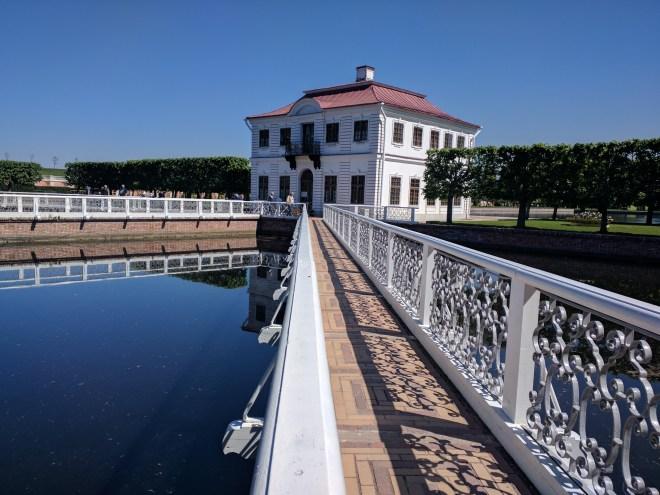 Petergof Russia Petersburgo palácio de Marli