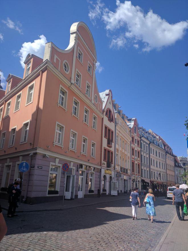 Riga Letonia centro historico