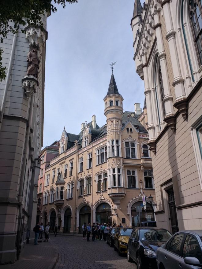 Riga Letonia pequena corporação de ofício