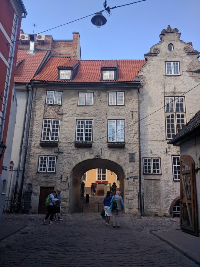 Riga Letonia portão sueco