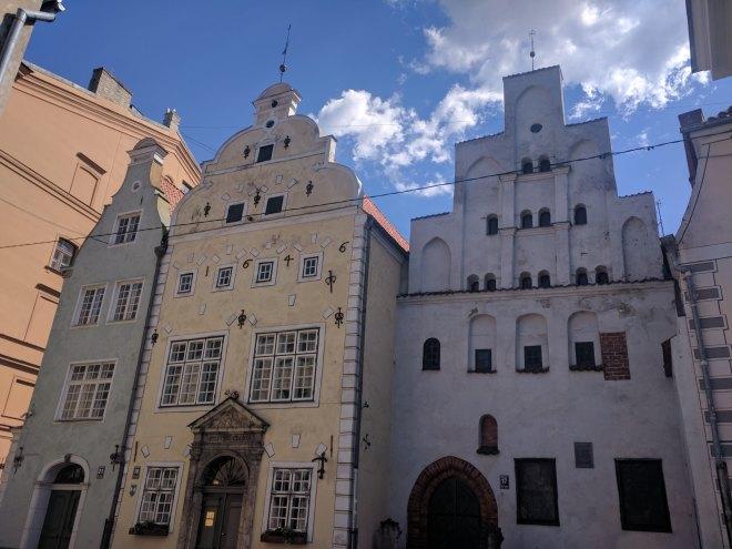 Riga Letonia três irmãos museu arquitetura
