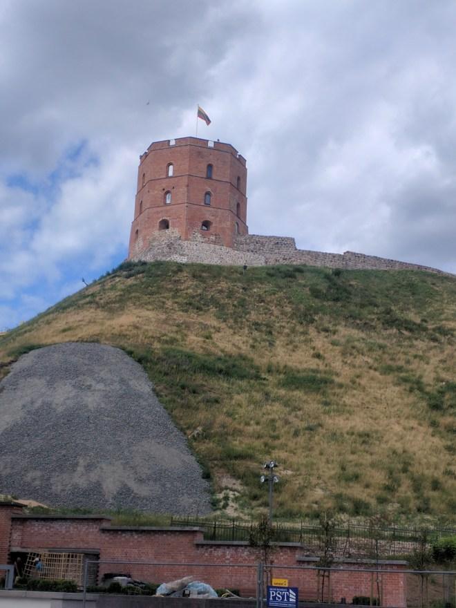 Vilnius Lituania castelo gediminas