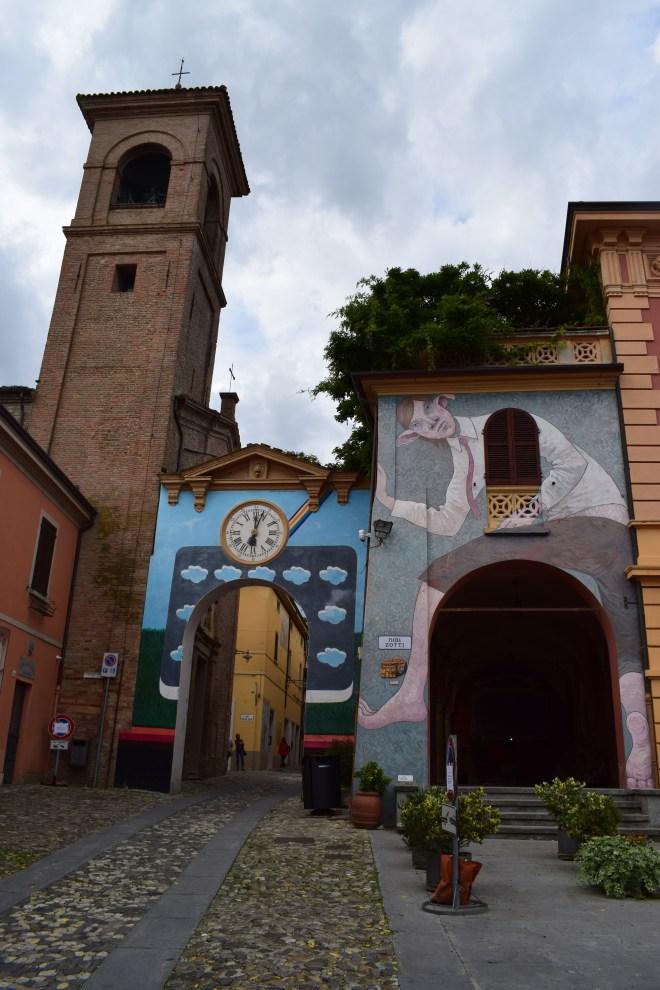 Dozza Bologna muros pintados 9