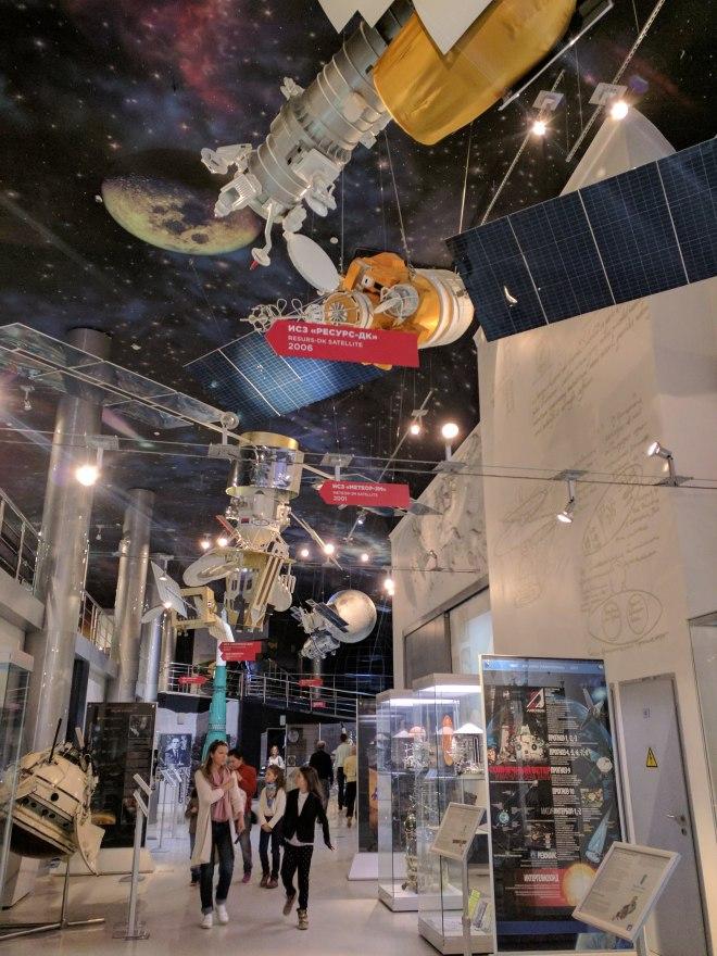 Moscou museu dos cosmonautas 3