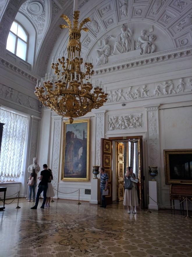 Petersburgo Hermitage ala de alexandre iii