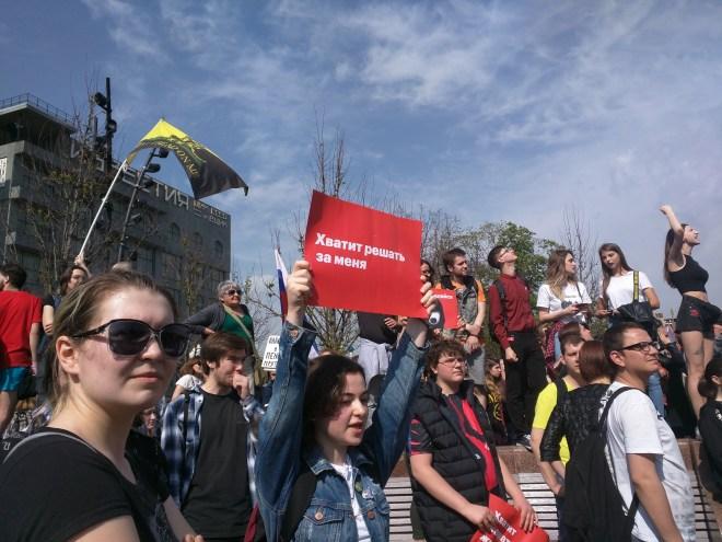 Protesto anti-Putin em Moscou 2