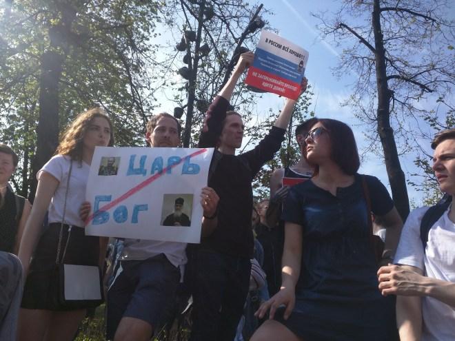 Protesto anti-Putin em Moscou 8