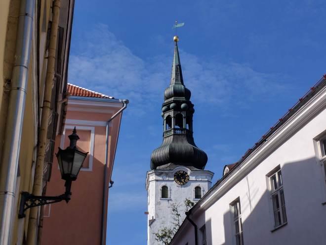Tallinn centro historico igreja de santa maria