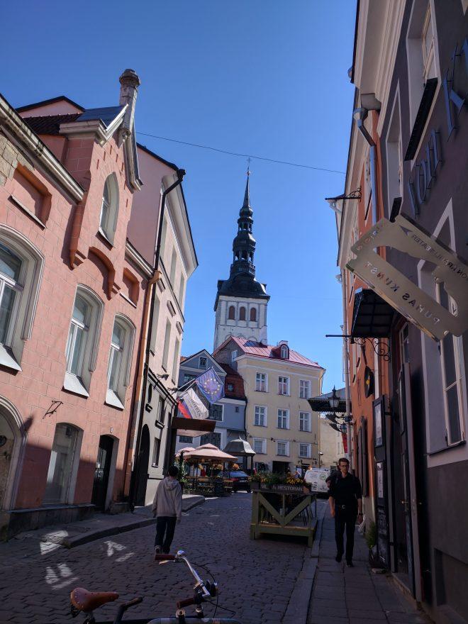 Tallinn centro historico igreja de são nicholas