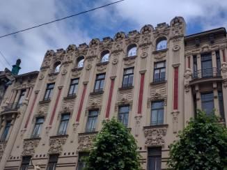 Letonia Riga Centro quieto bairro art nouveau 11