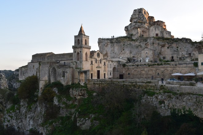 Matera italia igreja rocha caverna santa maria dell'idris