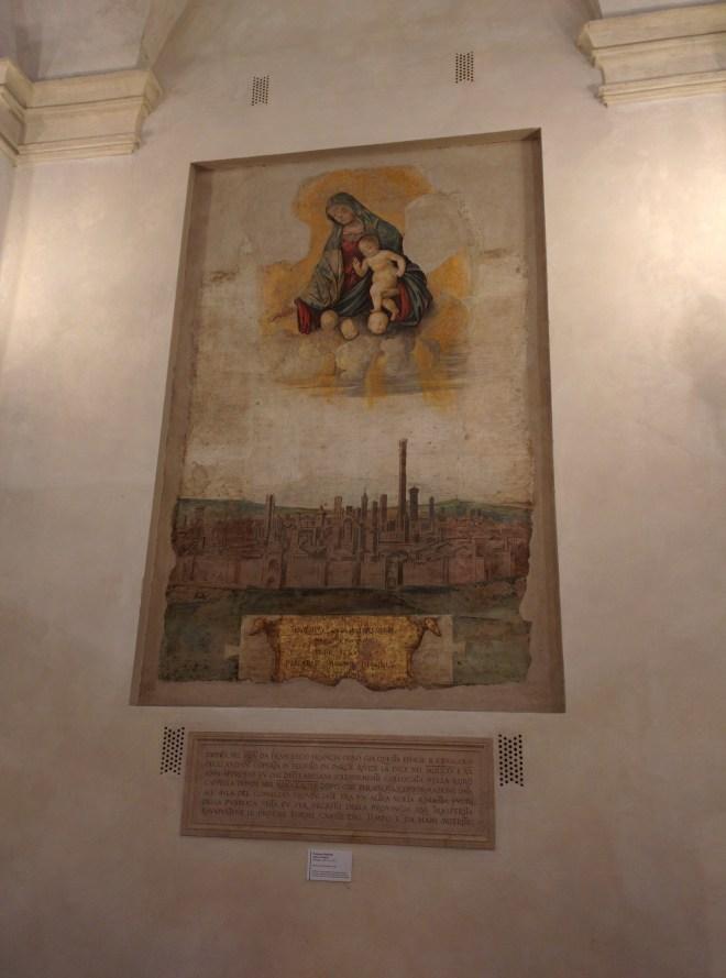 Bologna pizza maggiore palazzo d'accursio madonna terremoto