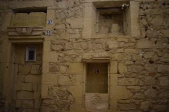 Lecce Puglia museu Faggiano parede