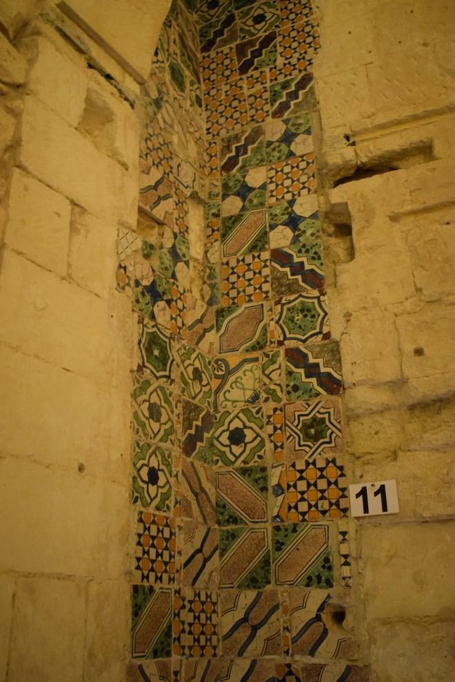 Lecce Puglia museu Faggiano paredes medievais