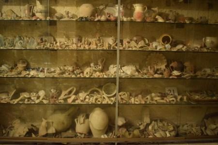Lecce Puglia museu Faggiano vasos