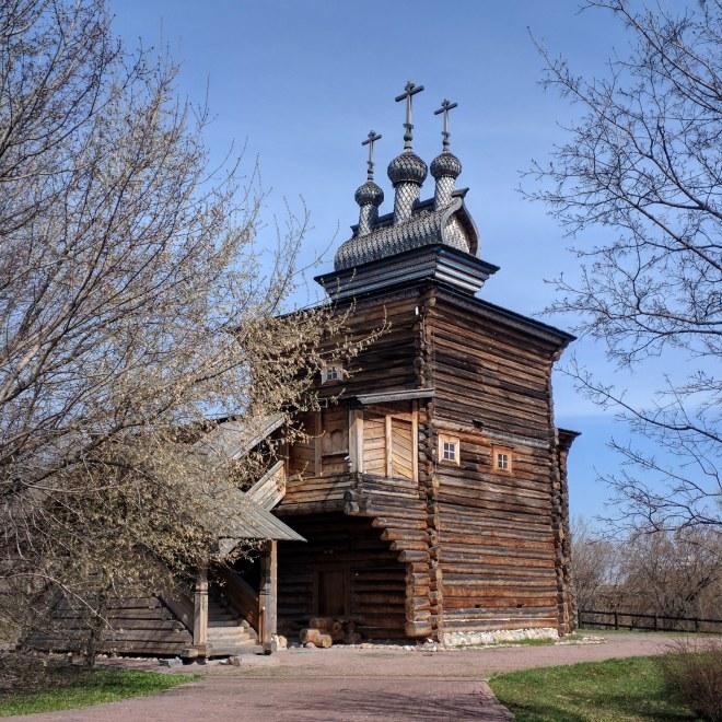 Moscou parque Kolomenskoye Igreja de São Jorge