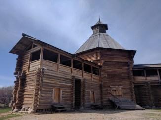 Moscou parque Kolomenskoye fortaleza madeira torre mokhovata
