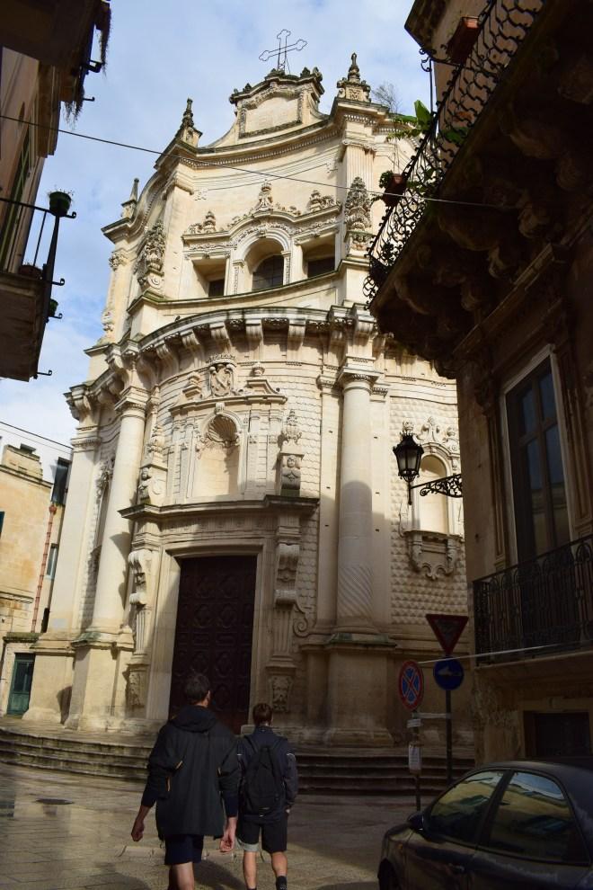 Puglia Lecce chiesa di san matteo