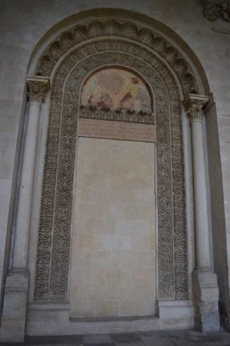 Puglia Lecce patio chiesa san Niccolo e Catualdo 4