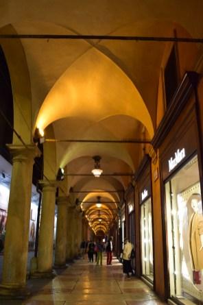 Bologna portico del pavaglione