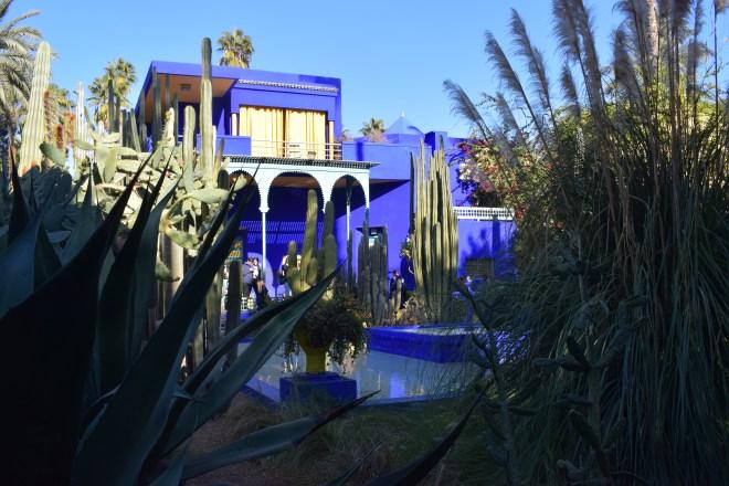 Marrakech Jardim Majorelle casa cubista museu berbere