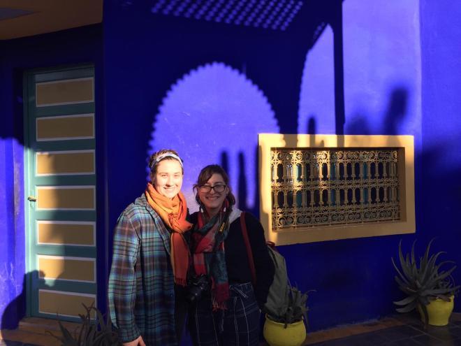 Marrakech Jardins Majorelle no museu berbere