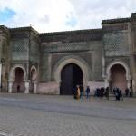 Meknes cidade imperial Marrocos portão bab el mansour