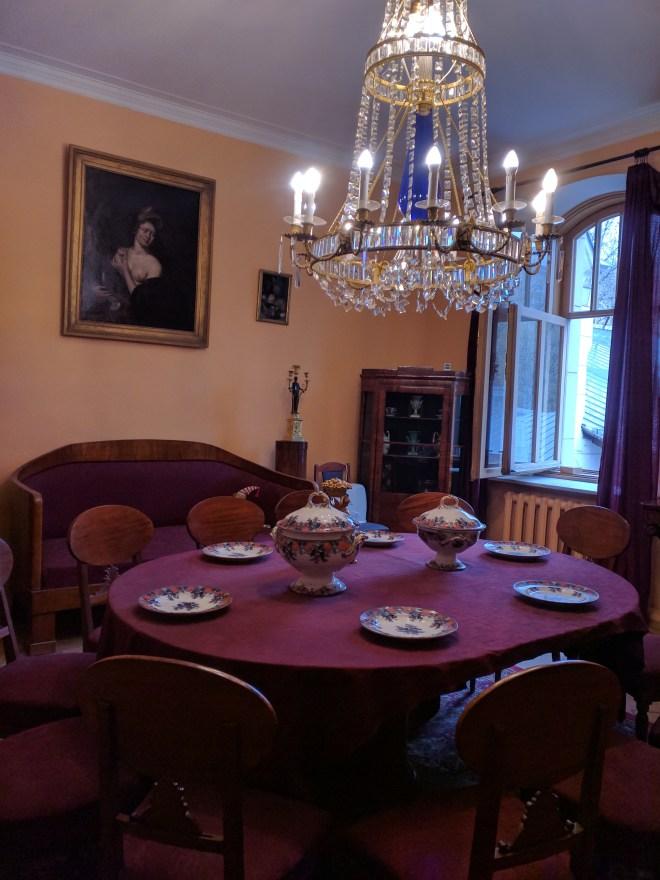Moscou apartamento Aleksei Tolstoi escritor 1