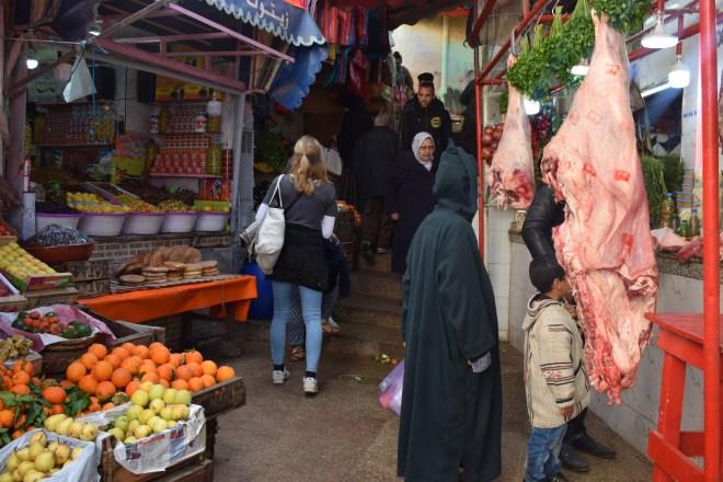 Moulay Idriss cidade sagrada marrocos mercado