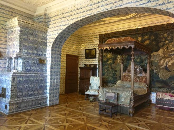 Petersburgo Hermitage Palacio Menshikov quarto de azulejos
