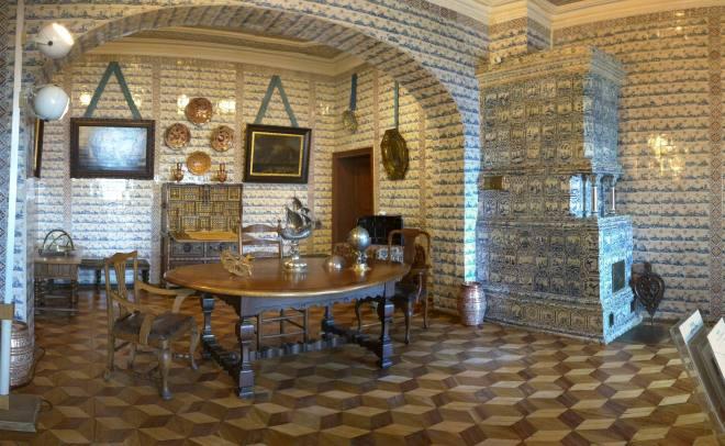 Petersburgo Hermitage Palacio Menshikov salas azulejos