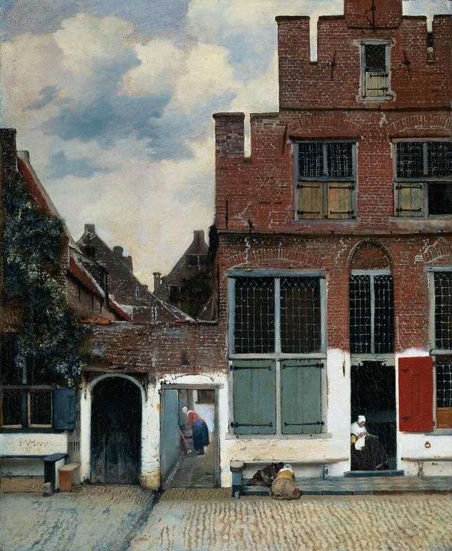 vermeer rua de delft