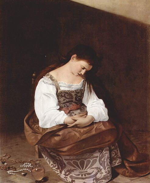 Onde ver Caravaggio em Roma galleria doria pamphilj madalena arrependida