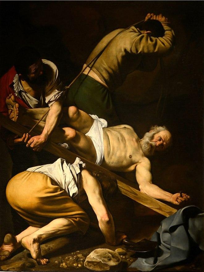 Onde ver Caravaggio em Roma igreja de santa maria del popolo crucificaçao de sao pedro