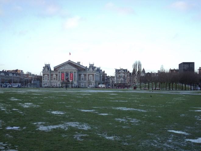 Amsterdam praça dos museus Concertgebouw