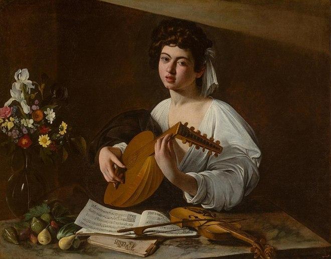 Hermitage pinacoteca destaques tocador alaúde caravaggio