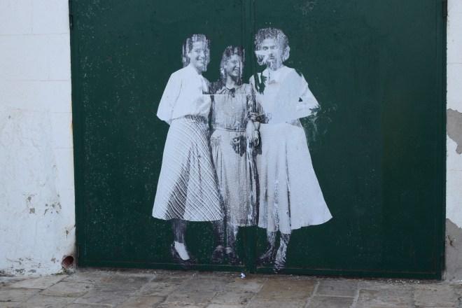 Monopoli puglia sul italia grafite vintage