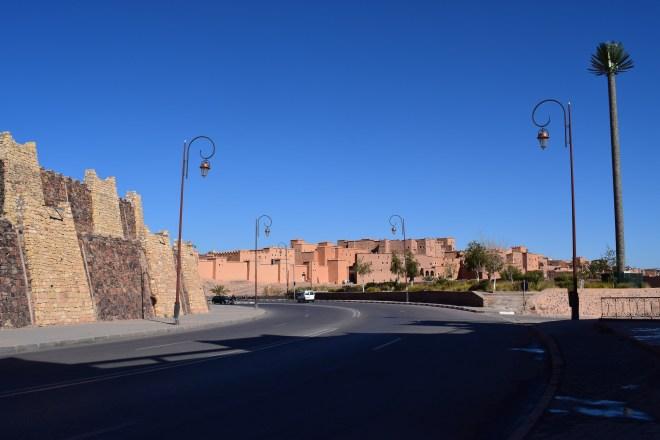 Ouarzazate Kasbah exterior