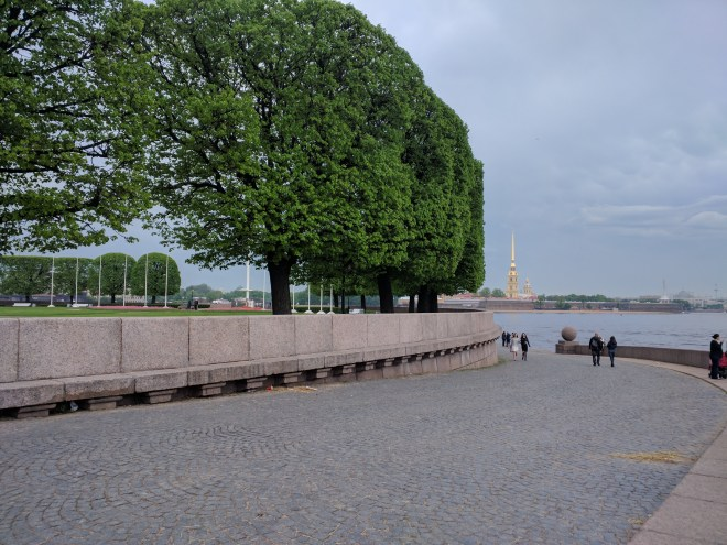 Petersburgo ilha vassilievski strelka vista fortaleza pedro paulo