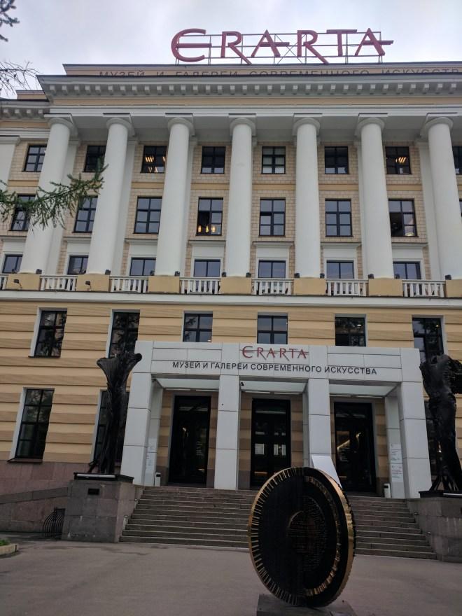 Russia Petersburgo Vassilievski museu de arte contemporanea russa erarta 1