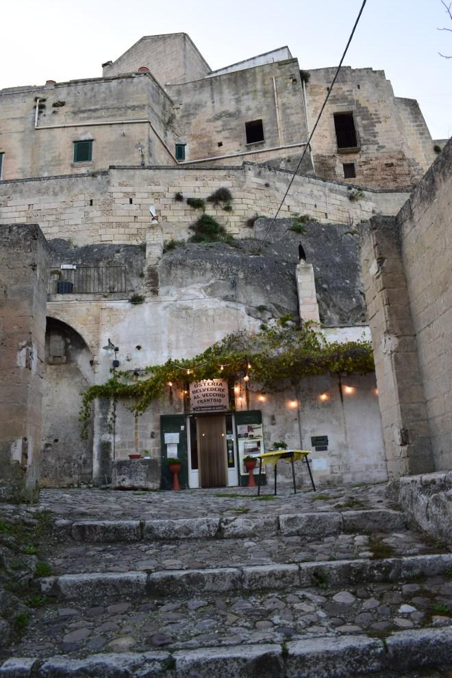 Matera sul itália restaurante
