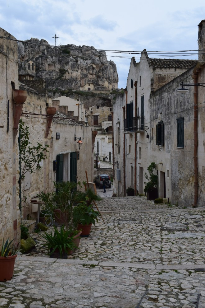 Matera sul itália ruas 2