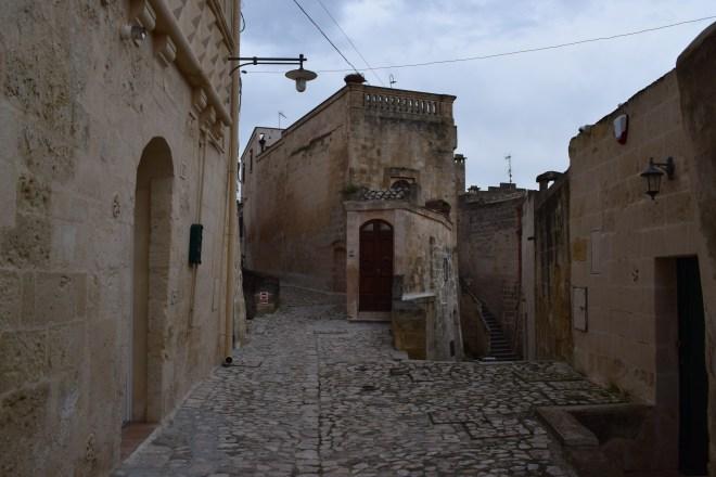 Matera sul itália ruas