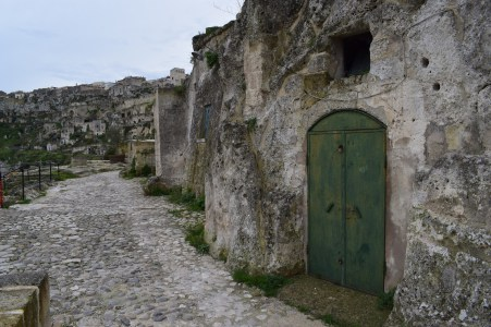 Matera sul itália sasso caveoso 2
