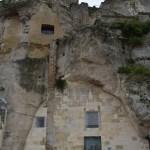 Matera sul itália sasso caveoso