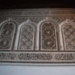 Marrakech palacio bahia teto detalhes parede
