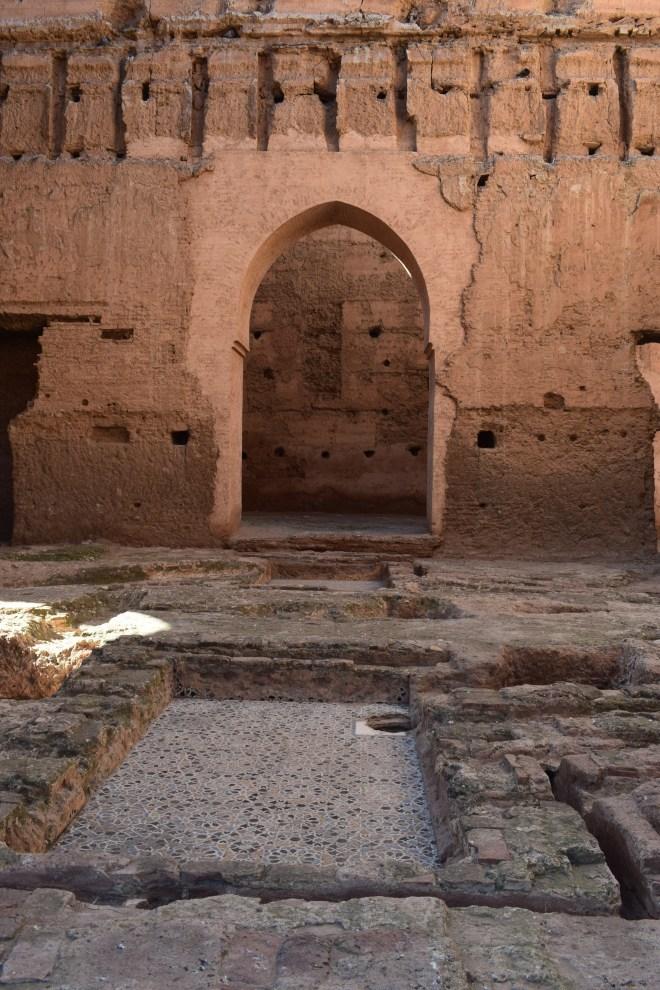 Marrakech palacio em ruinas el badi